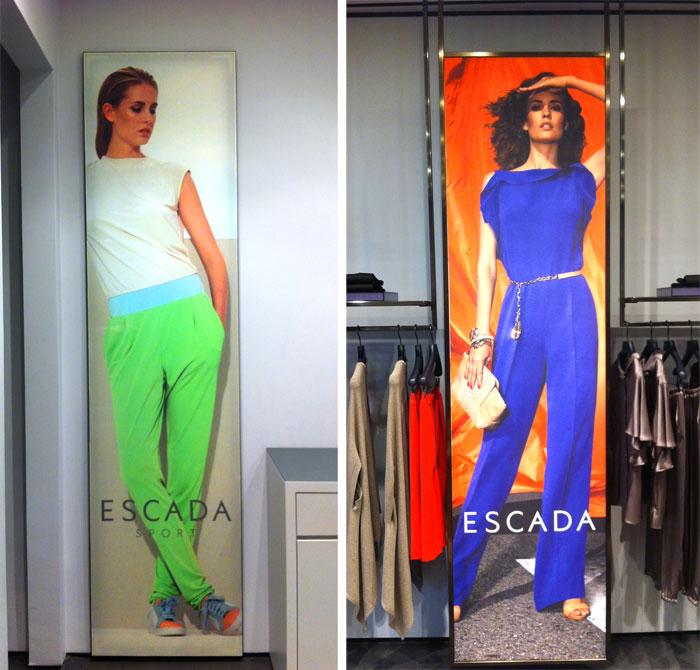 e6a99de05db07 Созданные нами новые имиджевые изображения для рекламы женской одежды ESCADA